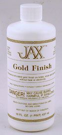 Jax - Gold Finish - Pint