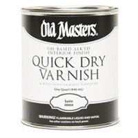 Old Masters - Quick Dry Varnish